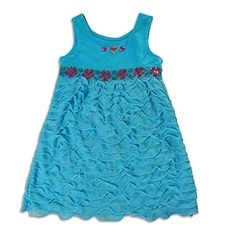 Lipstik Big Girls  Big Girls Sleeveless Dress Turquoise 2246216 >>> Learn more by visiting the image link.