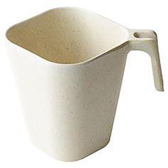 Bambooware Square Malibu Coffee Mug