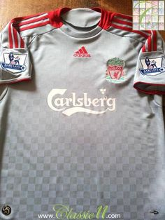 Relive Liverpool's 2008/2009 Premier League season with this original Adidas Liverpool away football shirt.