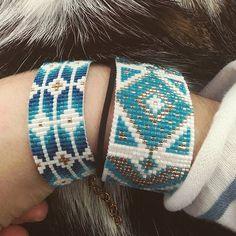 #lookoftheday #lookdujour #bracelet #cat #jenfiledesperlesetjassume #beadloom #beading #perles #perlesmiyuki #perlesaddict #miyukibeads #miyuki #miyukiaddict #diy #jewellery #bijoux #bijouxfaitmain #jewelleryhandmade