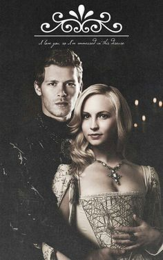 The Vampire Diaries: Klaus and Caroline. Why couldn't Caroline have been born a millennium before the events of Vampire Diaries Stefan, Vampire Diaries The Originals, Klaus From Vampire Diaries, Vampire Diaries Poster, Vampire Diaries Quotes, Vampire Diaries Seasons, Vampire Diaries Wallpaper, Caroline Forbes, Klaus Und Caroline