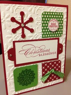 Christmas Blessings card by Lucinda