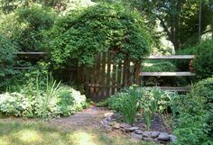 Garden gate with another of my paths!