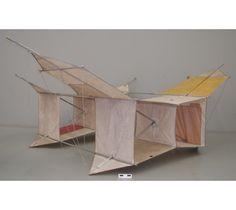 Cerf-volant fait de nylon et métal. #DeLaCollection du @MuseeAvEspace