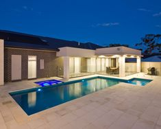 Concrete Pools Adelaide SA - Freedom Pools' custom designed concrete swimming pools can enhance with your outdoor entertainment area and lifestyle needs. Cool Swimming Pools, Best Swimming, Cool Pools, Backyard Pool Designs, Backyard Patio, Backyard Ideas, Pool Companies, Concrete Pool, Bar Grill