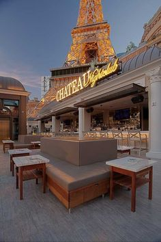 Chateau Nightclub (at Paris) - Terrace
