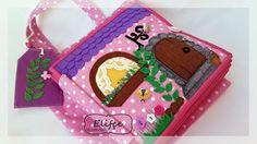 Мастерская Elifçe : Развивающая книжка Кукольный дом/ Quitebook Doll house