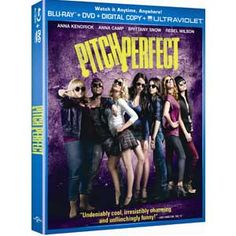 Enter for a chance to #win a Pitch Perfect Blu-ray™/DVD Combo Pack!    Twenty lucky winners will each receive a Pitch Perfect Blu-ray™/DVD Combo Pack. (Approx. retail value: $34.98); PitchPerfectMovie.com #giveaway #sweeps