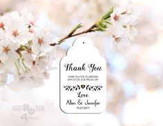 Items similar to 24 White Custom Wedding Tags _Thank You Tags_ Bridal Favor Tags_ Personalized Tag_Placecard_ Wish Tree Tag_ Rustic Wedding_Any Color on Etsy Rustic Wedding Favors, Wedding Favor Tags, Wedding Thank You, Personalized Tags, Thank You Tags, Special Day, Gift Tags, Place Cards, Place Card Holders