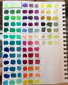 Paint Color Wheel, Colour Wheel, Color Mixing Chart, Color Combos, Paint Palettes, Wheels, Posts, Drawings, Painting