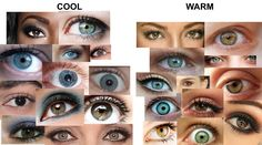 Cool Undertones vs Warm Undertones - Your Color Style Warm Vs Cool Colors, Deep Winter Colors, Cool Undertones, Warm Undertone, Soft Autumn Deep, Warm Autumn, Skin Color Palette, Soft Summer Color Palette, Winter Typ