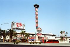Tam O'Shanter Motel. Las Vegas Strip, 1990s. Opened in 1959, demolished in 2004, and replaced with the Palazzo.