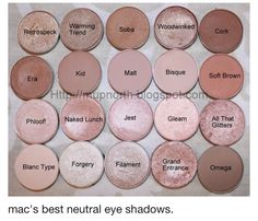 Cosmetic Fashion: MAC Eye Shadow Swatch Source by margestar Eyeshadow Kiss Makeup, Love Makeup, Hair Makeup, Makeup Tips, Makeup Ideas, Makeup Hairstyle, Prom Makeup, Gorgeous Makeup, Mac Bridal Makeup