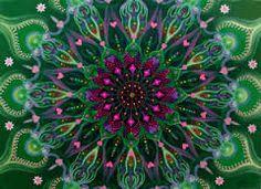 Mandala Pattern of Color Hippie Peace, Hippie Love, Fractal Art, Fractals, Images Of Peace, Peace Sign Art, Peace Signs, Mandala Doodle, Give Peace A Chance