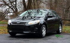 My 2013 base model Ford Focus S, manual transmission, no options