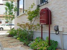 Ground covers, little side garden Side Garden, Green Garden, Garden Paths, Patio Design, Garden Design, Garden Styles, Entrance, Backyard, Exterior