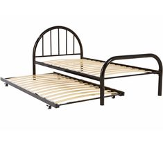Gecko Single Bed With Trundle