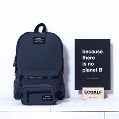 Accesories made with recycled materials. Fabric obtained in a 100% using recycled polyester from used plastic bottles.  Availables on www.ecoalf.com  #becausethereisnoplanetB #summer #spring #collection #ss16 #intrashwetrust #ecoalf#trendy #sustainablefashion #innovation