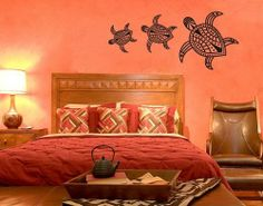 Best Quality Vinyl Wall Sticker Decals - Turtles ( Size: 20in x 9in - Color: black ) - No: 1018 by Wall Spirit. $30.95. Service Hotline Mon-Fri from 9-5 PST 877 493-1690. Fast delivery with FedEx and Free Shipping for orders of $65 and over. Application instructions included. Magical wall designs, wall decals, wall words, wall clocks and wall hangers from Wall Spirit. Choose from over 750 exclusive designs in over 30 different colors from small to giant size wall decals. _...