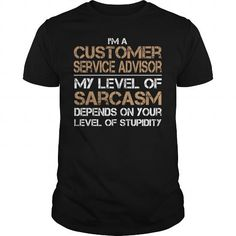Cool and Awesome Customer service advisor Shirt Hoodie