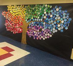 #dotday #monochromatic #collaborativeart #nationalartsineducationweek ⚠️✳️☮