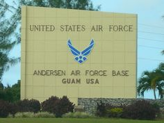 Andersen Air Force Base in Guam. Grandpa was stationed here as second in command of the base in the late 70's/ early 80's.