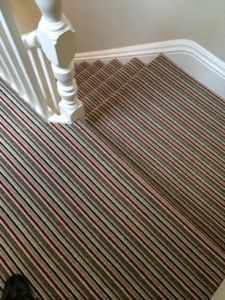 Marvelous Striped Carpet Landing   Google Search. Carpet On StairsStriped CarpetsLandingInterior  IdeasDecorating IdeasGoogle ...