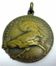 shopgoodwill.com: Rare WWI 1915 French Victory Liberty Bronze Medal