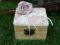 Μπομπονιέρες κουτάκι τετράγωνο vintage