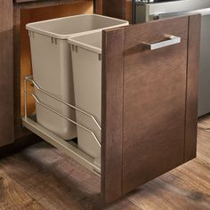 35 Qt. Pull-Out Waste Container