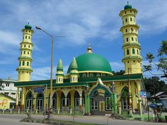 At-Taufiq Mosque - Bukit Pinang village, Samarinda Ulu subdistrict, Samarinda city, East Kalimantan, Indonesia