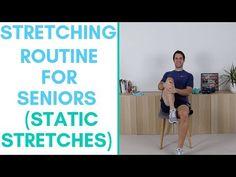 Fitter in 5 - Seated Leg Exercises For Seniors — More Life Health - Seniors Health Fitness Lower Body Stretches, Stretching Exercises For Seniors, Leg Strengthening Exercises, Balance Exercises, Resistance Band Exercises, Leg Exercises, Fitness Tips For Men, Senior Fitness, Senior Workout