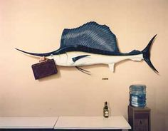 "Lunchroom - East Wall   ""Attorney at Sea""   Law Office   Palo Alto, California  Art of Greg Brown"