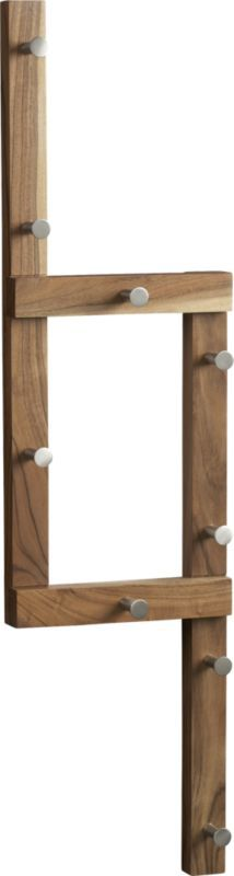 right angle coat rack  | CB2