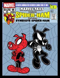 spider ham - Google Search