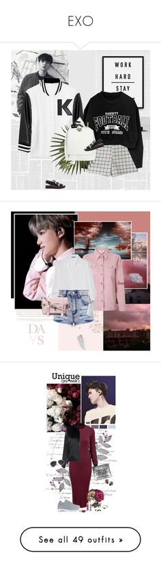 """""""EXO"""" by auby ❤ liked on Polyvore featuring Karl Lagerfeld, ASOS, Various Projects, Alexander Wang, Bobbi Brown Cosmetics, Urban Decay, NARS Cosmetics, Lazy Days, Miss Selfridge and Prada"""