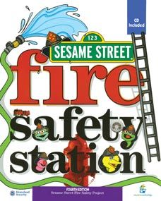 Sesame Street Fire Safety Coloring Book