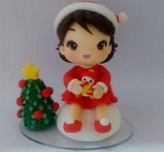 Aula Bonequinha de Natal com a nossa querida Artesã Vivian Pott