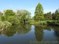 Parc de Robinson à Corbeil-Essonnes - Rivière Essonne
