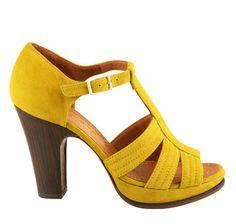 fabulous yellow heels