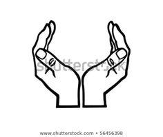Find Cupped Hands Retro Clip Art stock images in HD and millions of other royalty-free stock photos, illustrations and vectors in the Shutterstock collection. Cupped Hands, Hand Logo, Doodle Art, Coloring Pages, How To Draw Hands, Royalty Free Stock Photos, Clip Art, Retro, Logos