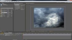 3D Clouds in After Effects cheat--7:39--displacement distortion & luminance