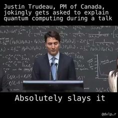 Canada Prime Minister killing it.. Funny enough he doesn't even have Tech background Video from @dvlp.r