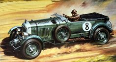 The Outer Topic: Photo Vintage Cars, Antique Cars, Airfix Models, Airfix Kits, Cross Art, Car Illustration, Automotive Art, Cross Paintings, Aviation Art