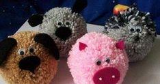 Crea fácilmente pompones de lana o estambre para posteriormente usarlo en decoraciones y adornos de todo tipo. Mira todas las increíbles m...
