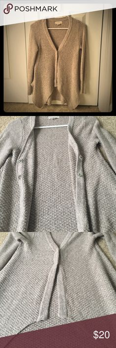 Two button open flow sweater Two button open flow cardigan. Good condition. tj maxx Sweaters Cardigans