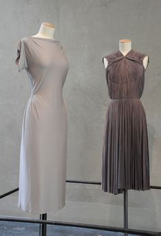 Madame Gres jersey dresses c. 1956 - totally modern.