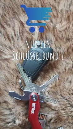 Schlüsselhalter für bis zu 12 Schlüssel mit Zusatznutzen zum Einkaufen für Bequeme Swiss Army Knife, Hacks, Don't Care, Shopping, Hang In There, Birthday, Tips, Ideas