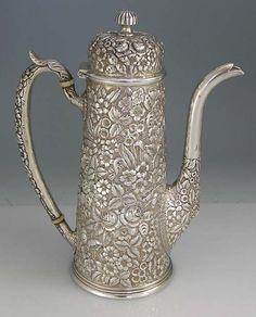 Chocolate Pot c.1900 #chocolatehistory