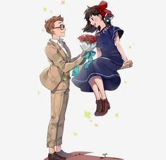 Studio Ghibli is a Japanese animation film studio founded in June 1985 by the directors **Hayao Miyazaki** and **Isao Takahata** and the producer. Studio Ghibli Art, Studio Ghibli Movies, Hayao Miyazaki, Manga Anime, Anime Art, Cartoon Network, Fanart, Kiki Delivery, Animation